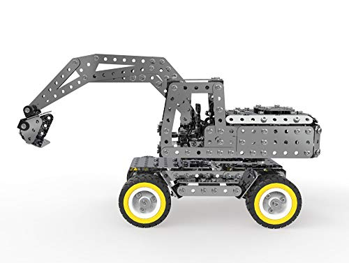 Skryo DIY 3D Metall Puzzle Modellbau Edelstahl Kit 642 STÜCKE Spielzeug Geschenk Dekor (A)