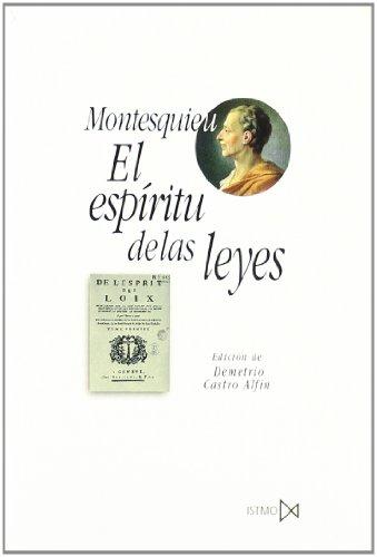 El esp?ritu de las leyes (Fundamentos) por Montesquieu