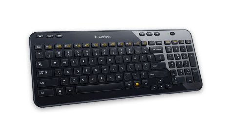 LOGITECH K360 Cordless Keyboard USB Black - EER (US) (360 K Logitech)