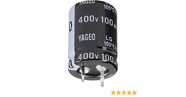 5x Snap In Elko Kondensator 100µf 450v 105 C Elektronik