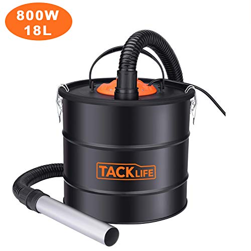 Aspirateur de Cendres, TACKLIFE 18L Collecteur de...