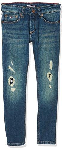 Tommy Hilfiger Jungen Jeans Steve Slim Tapered WNCS, Blau (Wane Nappy Comfort Stretch 911), 152 (Herstellergröße: 12)