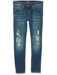 Tommy Hilfiger Steve Slim Tapered Wncs, Jeans para Niños