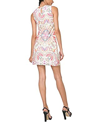 Desigual Women's Vest_lágrima Valkiria Dress