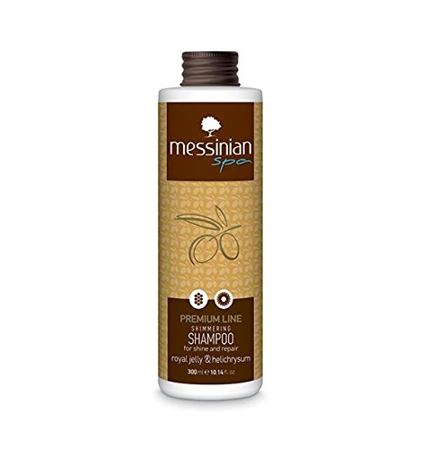 messinium Spa Shampoo für Glanz & repair- Premium Line Royal Jelly & helichrysum- 300ml -