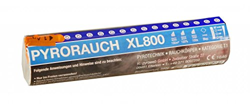 PYROWEB.DE Pyrorauch XL800 Blau - Rauchpatrone/Jumbo Rauch