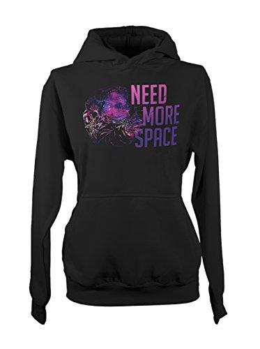 need-more-space-astronaut-spaceman-donna-felpa-con-cappuccio-nero-medium