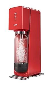 Sodastream SOURCEPR Machine à eau pétillante et soda Rouge