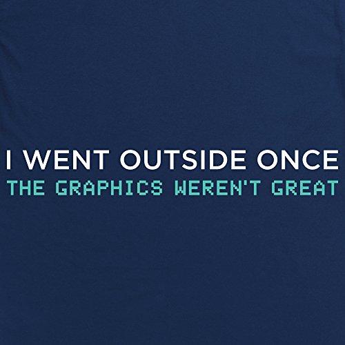 Graphics T-Shirt, Herren Dunkelblau