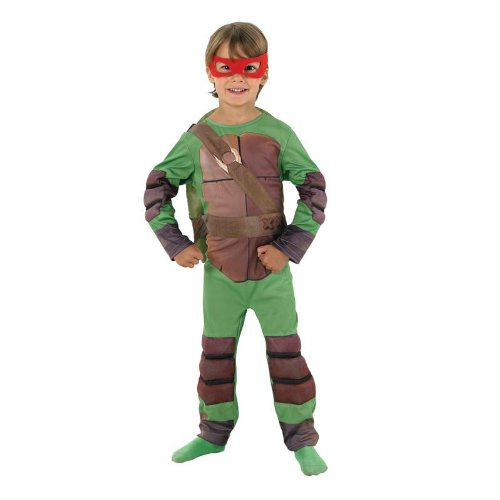 Teenage Mutant Ninja Turtles Kinder Kostüm Schildkröte Gr.3-4 (Turtles Teenage Mutant Kostüm Kinder Ninja)