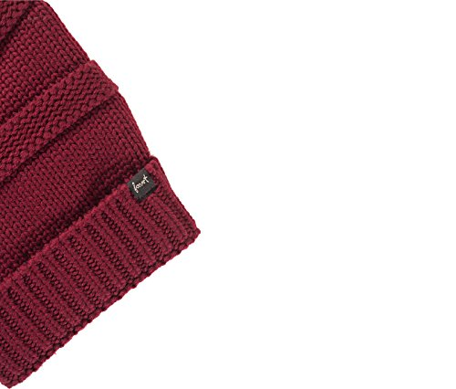 Forvert Earth Wool Beanie Burgundy