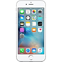 "Apple iPhone 6s - Smartphone de 4.7"" (Dual-Core 1.4 GHz, RAM de 64 GB, memoria interna de 2 GB, camara de 12 MP, iOS) color plata"