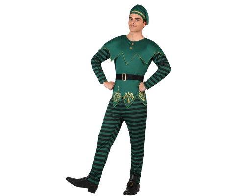 männliches Kostüm, Größe M-L, grün (Das Kobold-kostüm)