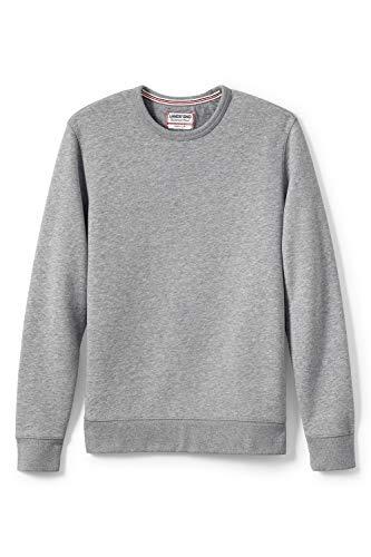 Lands\' End Sweatshirt mit rundem Ausschnitt Grau XXL
