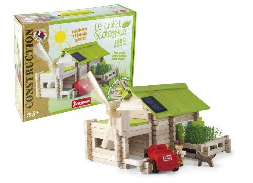 Jeujura-JeujuraJ8071-Ecological-Farm-Wooden-Construction-Kit-145-Piece