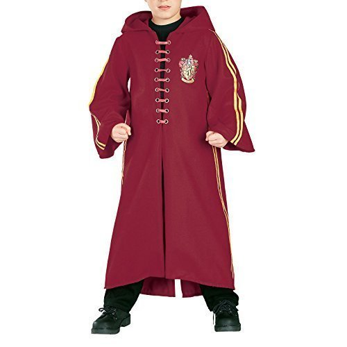 er Deluxe Harry Potter Hermine Grainger Quidditch Zauberermantel büchertag Halloween Kostüm Kleid Outfit 3 - 10 Jahre - Mehrfarbig, Mehrfarbig, 5-7 Years (Hermine Kostüm Kind)