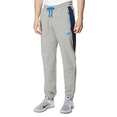 Nike Hybrid Trainingsanzug Fleece Hosen Hosen - Grau/Blau, X-Large