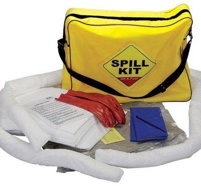 SERPRO Set für Aufnahme von verschüttetem Öl, 50l, in Tasche - Oil Spill Response