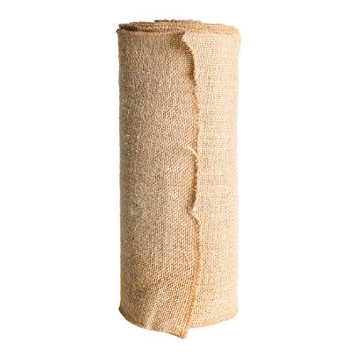 ANDUX Zone juta nastro banda tela naturale Tela Da Imballaggio Mestieri DIY Jute Ribbon Wedding 30cm x 10m