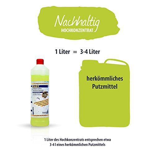 EASY Universal-Reiniger Konzentrat 1.000 ml, Profi-Reinigungsmittel, Glasreiniger, WC Reiniger, Badreiniger & Küchenreiniger für alle glatten Flächen - tierversuchsfrei - 5