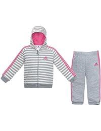 adidas Kinder Baby Winter Hooded Trainingsanzug