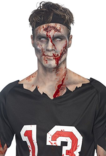 e Gesichtsnarben Make-Up, Gel, Latex und Fake-Blut, 2x29ml, 44728 (Zombie Make Up Flüssig Latex)