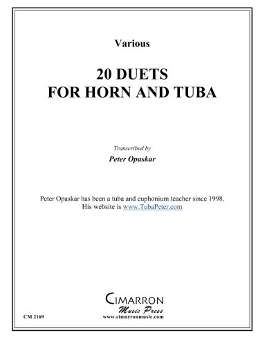 20 Duets for Horn and Tuba