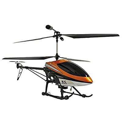 """Gyro equipped made Murata """"RC helicopter with a total length 77cm camera"""" by Marin Shoji"""