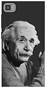 The Racoon Grip Albert Einstein hard plastic printed back case / cover for Xiaomi Mi3