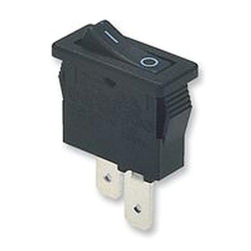 Wippschalter 10A Schwarz Schalter SPST I/O Rocker Schalter -