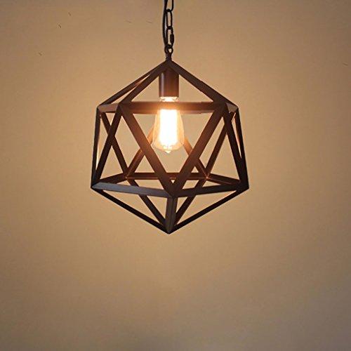 Chandelier Bar Caffè Ristorante lampadario in ferro Retro Vento industriale