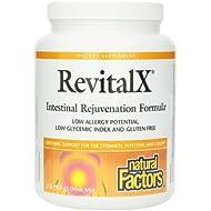 Natural Factors, RevitalX, Formule Rajeunissement Intestinal, Mélange de boisson , 2 lb (907 g)