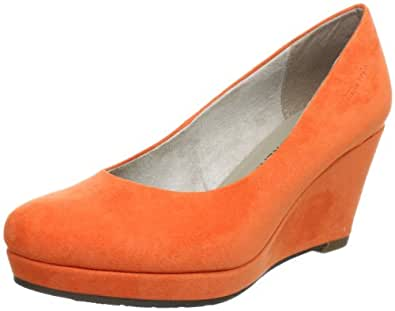 Tamaris-TREND 1-1-22449-20, Damen Pumps, Orange (APRICOT 604), EU 43