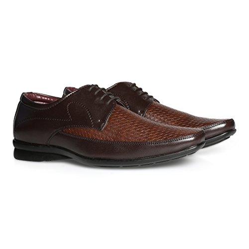 BATA Men's Whitman Brown Formal Shoes