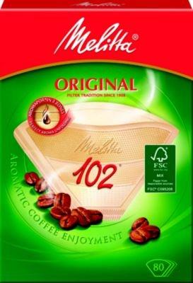 Verseuse & Filtre Cafetière MELITTA 80 filtres brun 102 - 8-10 tasses