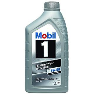 Mobil 1 FS X1 5W50 153632 Motorenöl Synthetic, Gold, 1 L