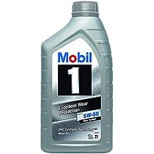 Mobil 1 FS X1 5W50 Aceite sintético de Motor 153632, Gold, ...