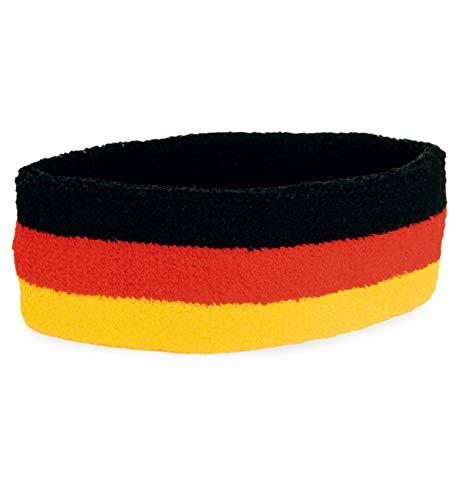 Fan - Stirnband elastisch Schweissband Fanstirnband Fan Band Deutschland FAN - Artikel