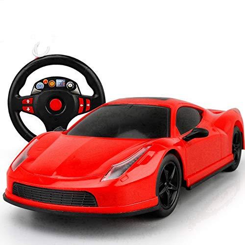 edienung Auto Spielzeug High Speed   Drift Sport Auto Kind Radio Fernbedienung Rennwagen Junge Drahtlose Fernbedienung Großes Auto (Color : Steering Wheel) ()