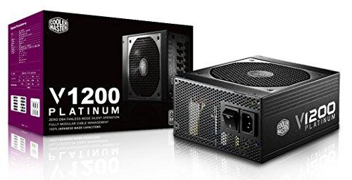 Cooler Master V1200 Alimentatore  \'Modulare, 80 Plus Platinum, 1200W\' RSC00-AFBAG1-EU