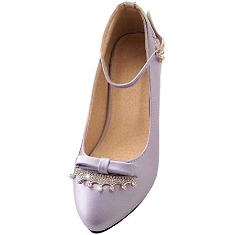 HiTime Bride Cheville Cheville Bride Femme - Violet - Violet, 36.5 -  B07CVBXHKW - ba2991 92c10080a68c