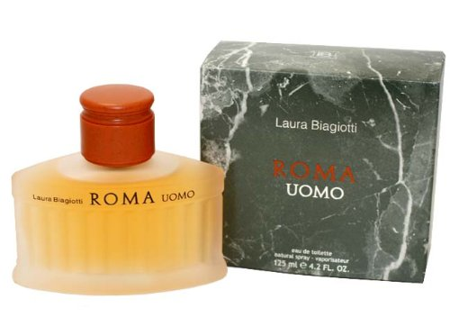 Laura Biagiotti Roma Uomo Eau de Toilette spray 125 ml
