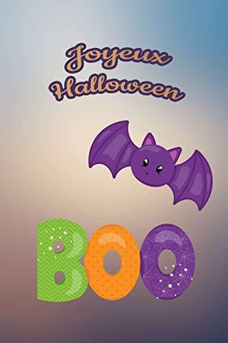ur nos petits : Petit carnet de notes de 121 pages blanches avec couverture et pages sur le thème d'Halloween (Mon petit journal d'Halloween, Band 27) ()