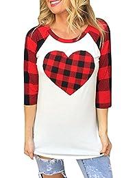 es Ropa Amazon Blusas Camisetas Tops Y Blusas Camisas Para vTq1Twd