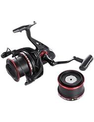 GBlife COONOR Carrete de Pesca Spinning 11+2 BB 4.6:1 Rodamientos de Bolas, 2 Tipos de Rueda de Línea (YF8000 y YF9000), 8000 Series