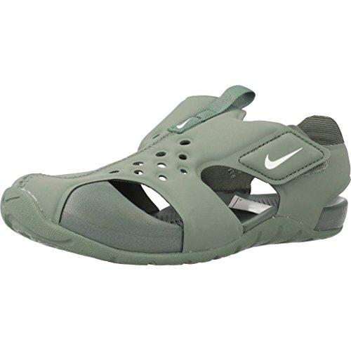 Nike Sandalias y Chanclas Para Niño, Color Verde, Marca, Modelo Sandalias Y Chanclas Para Niño Sunray Protect 2 (PS) Verde