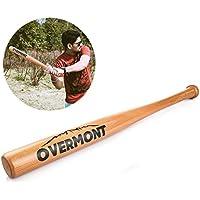 """Overmont batte de baseball en bois en couleur du bois naturel longueur 25""""/29""""/33"""""""