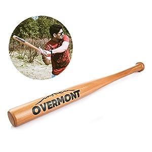 Overmont Baseballschläger Baseball Schläger Holz 25/29/33 Zoll