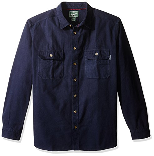 woolrich-mens-expedition-chamois-long-button-down-shirt-deep-navy-large
