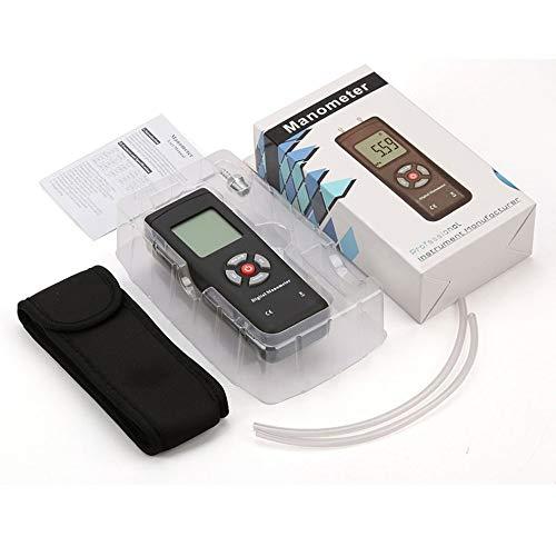 TL-100 Handheld U-Typ Differenzdruckmesser Digitaler Druckmesser schwarz